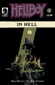 Hellboy In Hell 1 cover
