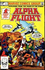 Alpha Flight #001 00