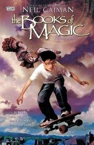 Books of magic cover