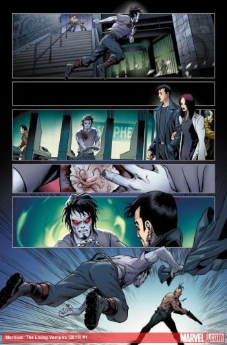 Morbius Issue 1