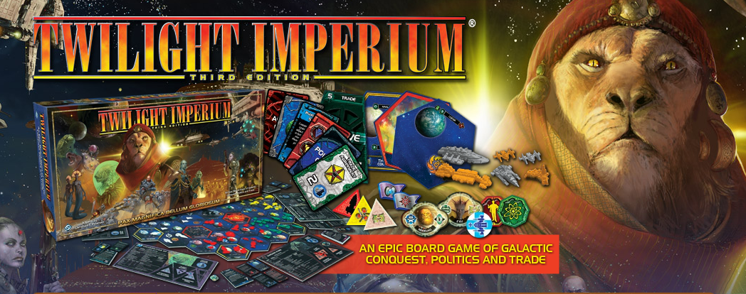 Twilight Art Games Our Twilight Imperium Game