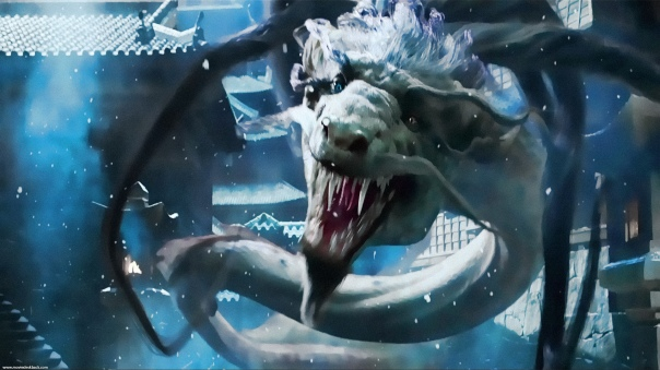 Mizuki as the dragon