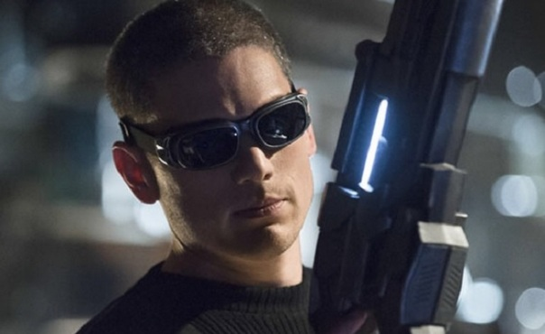The first image of Wentworth Miller III as Captain Cold.