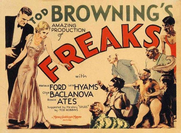 Promotional poster for Freaks (1932)