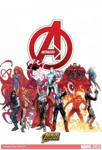 Avengers NOW 1 cover