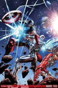Avengers 44 cover