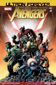 Avengers Ultron Forever 1 cover