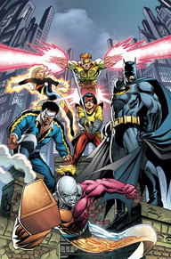 Convergence Batman and Outsiders1