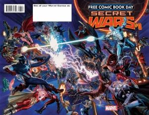 Secret Wars 0 cover