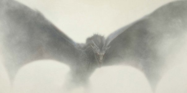 drogon in the mist