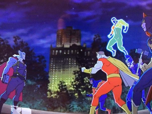 Squadron Supreme Avengers Assemble
