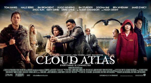 Cloud Atlas (2012) promotional poster.