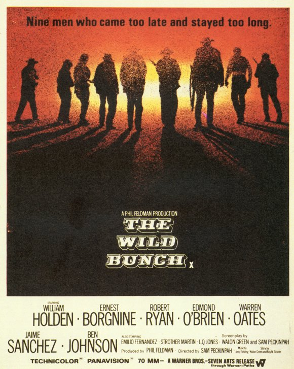 Poster for The Wild Bunch (1969)