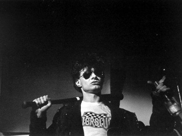 JG Thirlwell, 1985: photo by John Hubbard