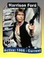 Actor Trading Cards: Harrison Ford