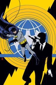 Batman 66 and UNCLE 1 cover
