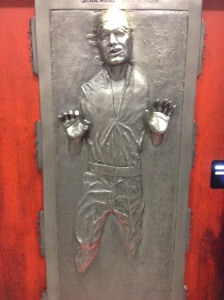 Han Solo Frozen in Carbonite