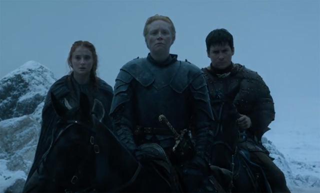 ...Sansa, party of three...ready to kick some Bolton ass...