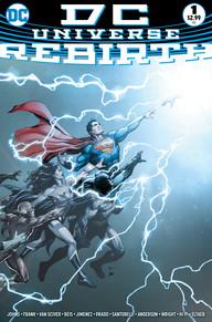 DC Universe Rebirth #1