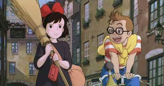 Kiki's Delivery Service Tombo Bike