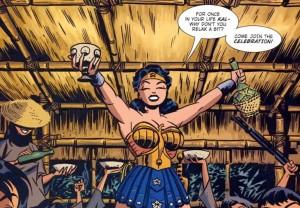 Wonder Woman New Frontier