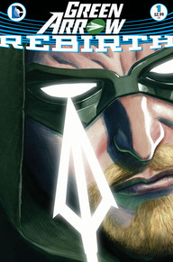 Green Arrow Rebirth 1 cover