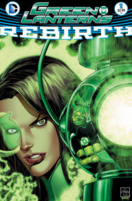 Green Lanterns Rebirth 1 cover