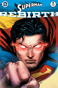 Superman Rebirth 1 cover