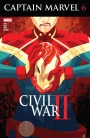 "There's Fantastic Artwork in ""Civil War II: Uncanny Inhumans"" and ""Captain Marvel"""
