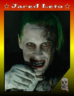 Actor Trading Cards - Suicide Squad - Jared Leto