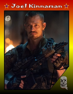 Actor Trading Cards - Suicide Squad - Joel Kinnaman