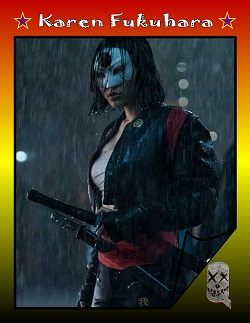 Actor Trading Cards - Suicide Squad - Karen Fukuhara