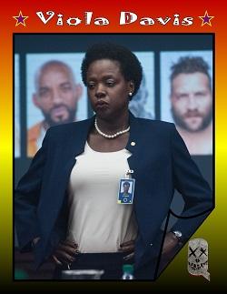 Actor Trading Cards - Suicide Squad - Viola Davis