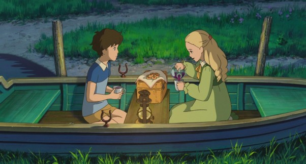 When Marnie was there boat