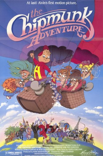 Chipmunk Adventure-Poster