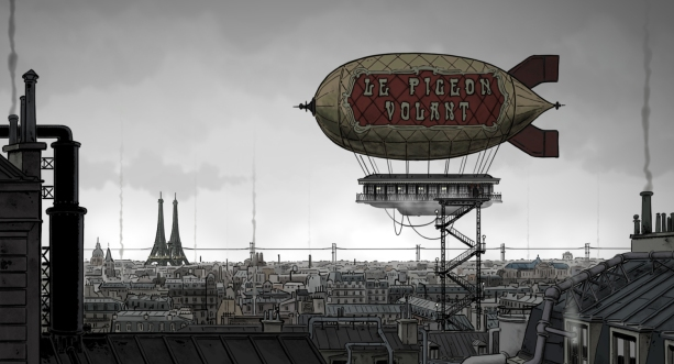 april and the extraordinary world airship